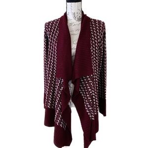 Romeo + Juliet Couture Open Front Cardigan (S)